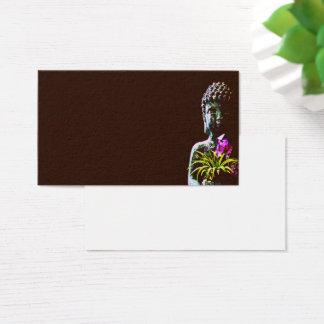 Cartes d'intention de Bouddha d'améthyste pour des