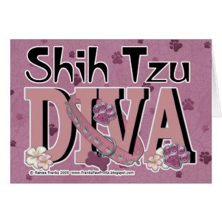 Cartes DIVA de Shih Tzu