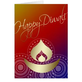 Cartes Diwali heureux