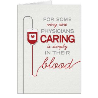 Cartes Docteur Thanks - les soins sont dans leur sang