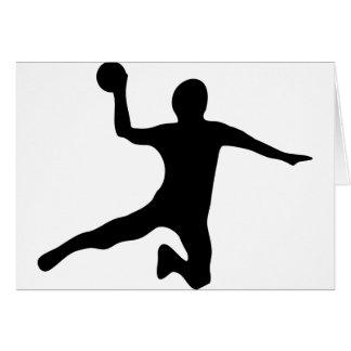 Cartes dodgeball de spieler de handball