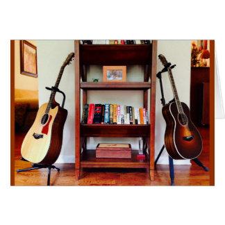 Cartes Doubles guitares