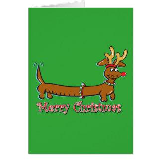 Cartes Doxie-Joyeux-Noël