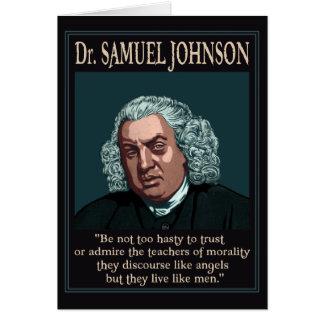 Cartes Dr. Samuel Johnson