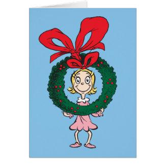 Cartes Dr. Seuss | Cindy-Lou qui - guirlande