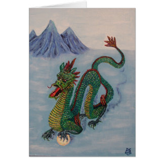 Cartes Dragon chinois de destin