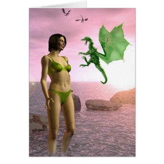 Cartes Dragon de plage