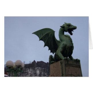 Cartes dragon Ljubljana