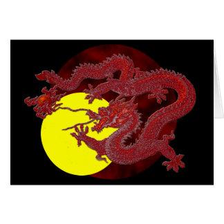 Cartes Dragon rouge de cire