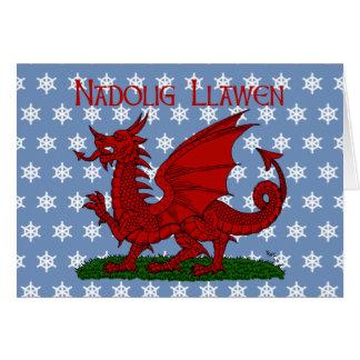 Cartes Dragon rouge du Pays de Galles