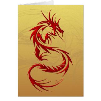 Cartes Dragon tribal