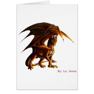 Cartes Dragon vert