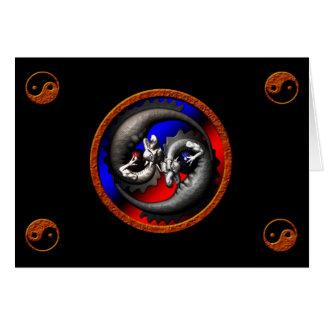 Cartes Dragon Yin-Yang