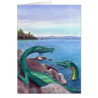 Cartes Dragons du lac Tahoe