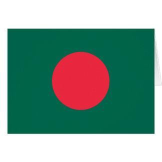 Cartes Drapeau bangladais patriotique
