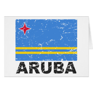 Cartes Drapeau de cru d'Aruba