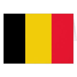 Cartes Drapeau de haute qualité de la Belgique