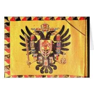 Cartes Drapeau de la dynastie impériale du Habsbourg,