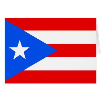 Cartes Drapeau de Porto Rico