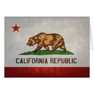 Cartes Drapeau d'état de la Californie