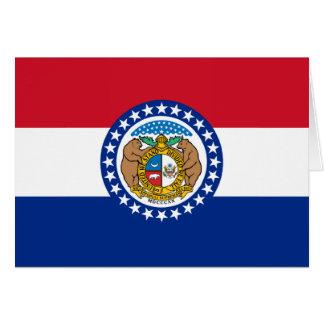 Cartes Drapeau d'état du Missouri