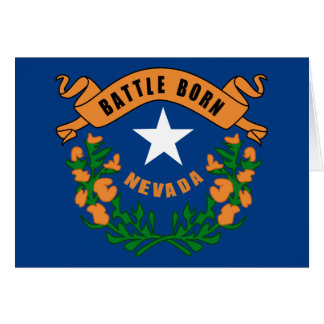 Cartes Drapeau d'état du Nevada