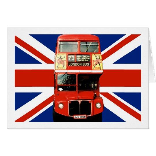 cartes drapeau et autobus britanniques de londres. Black Bedroom Furniture Sets. Home Design Ideas