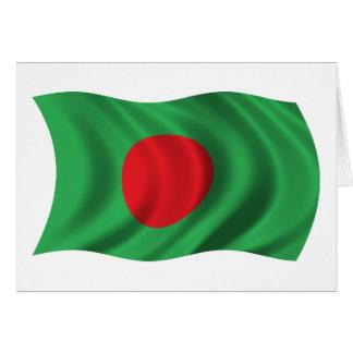 Cartes Drapeau onduleux du Bangladesh
