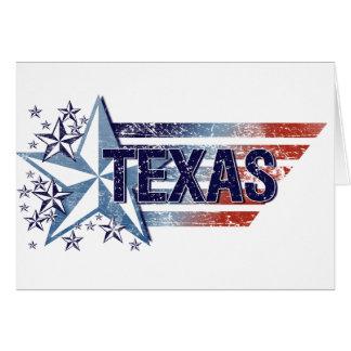 Cartes Drapeau vintage des Etats-Unis avec l'étoile - le