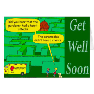 Cartes Drôle comme bande dessinée de crise cardiaque dans