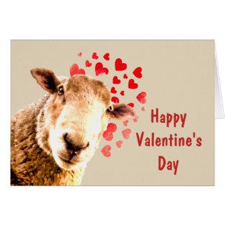 Cartes Drôle vous et moi animal de Saint-Valentin