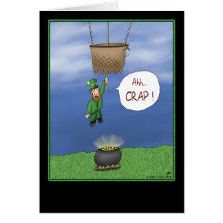 Cartes du jour de St Patrick drôle : Presque