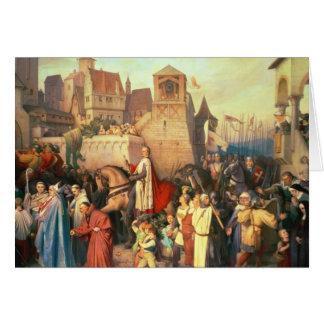 Cartes Duc Leopold le glorieux entre dans Vienne