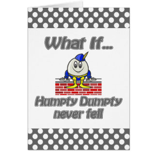 Cartes dumpty humpty n'est jamais tombé