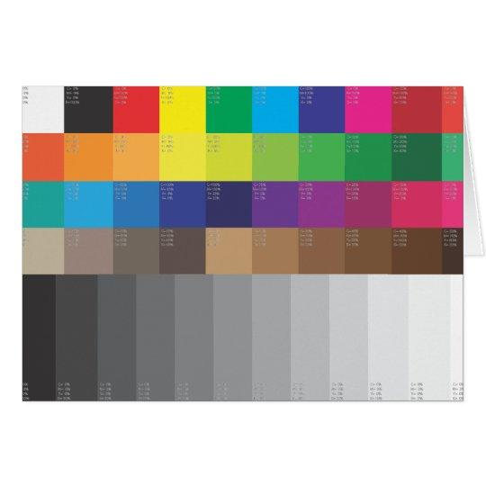 cartes chantillon de couleur et gamme de gris. Black Bedroom Furniture Sets. Home Design Ideas