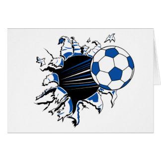 Cartes Éclat de ballon de football