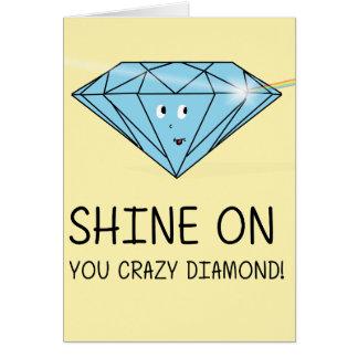 Cartes Éclat sur vous diamant fou
