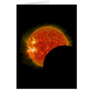 Cartes Éclipse solaire en cours
