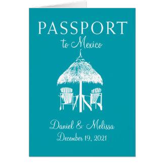 Cartes Économies de passeport de Cancun Mexique la date