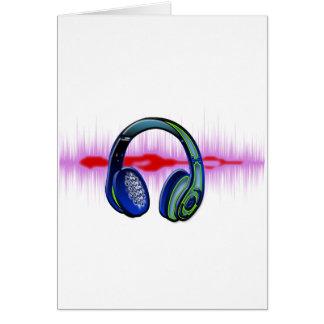 Cartes Écouteurs de techno