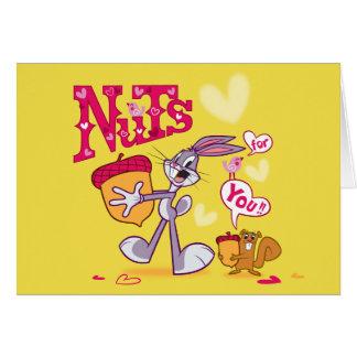 Cartes Écrous de Bugs Bunny | pour vous