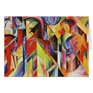 Cartes Écuries de Franz Marc