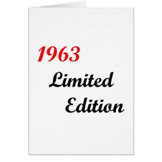 Cartes Édition 1963 limitée