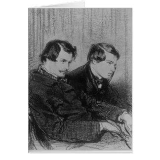 Cartes Edmond de Goncourt et Jules de Goncourt