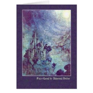 Cartes Edmund Dulac illustre Edgar Allan Poe