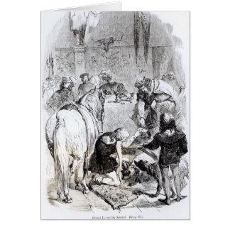 Cartes Edouard II et le troubadour