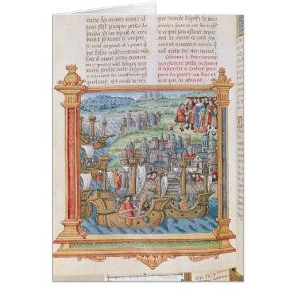 Cartes Edouard IV de l'atterrissage de l'Angleterre à
