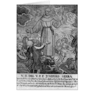 Cartes Effilochure Junipero Serra
