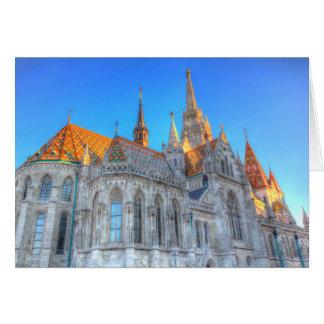 Cartes Église Budapest de Mathias