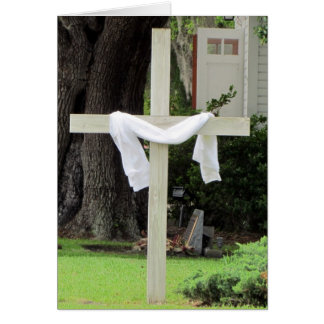 Cartes Église/carte croisée de condoléance